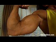 Picture Aziani Iron Angela Salvango female bodybuild...