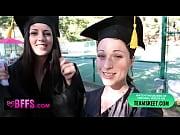 Picture BFFS - Celebrating Graduation With Lesbian T...
