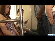 Picture Cock sucking Iori Mizuki bends for a big bla...