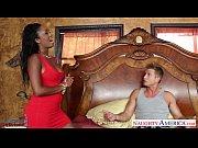 Picture Ebony gf in red dress Layton Benton gets pus...