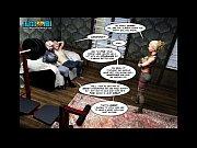 Picture 3D Comic: Echo. Episode 8 - Sress Test