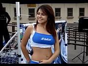 Picture Edecan de Telcel Bailando