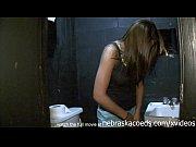 Picture Hot kansas brunette masturbating in bar bath...