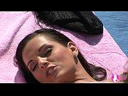Picture Viv Thomas Lesbian HD - Stunning hot brunett...