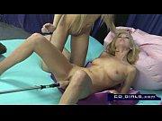 Picture Carlie Banks on the orgasmatron sex machine...