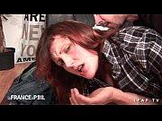 Picture Sexy rouquine prise en double penetration po...