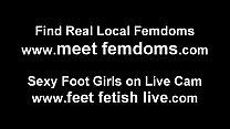 Bella and Jasmine are total foot freaks