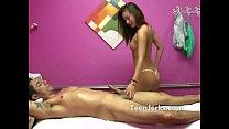 Asian massage parlour hidden cam
