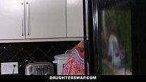 DaughterSwap - hot lesbian teens fuck around be...
