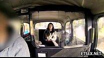 Taxi driver takes a little detour