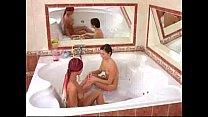 Very hot beauties in bathtub