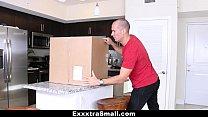 ExxxtraSmall - Small Tight Pussy Teen Gets Dest...