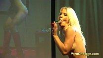 crazy nfcm show on public stage