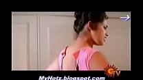 South indian actress meena blouse hooking scene...