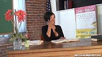 professora siliconada fodendo na escola