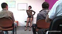 Escola do sexo com a professora gostosa vadia