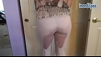 Ineed2pee behind the scenes wetting her jeans 2...