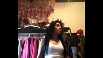Adolescente de tijuana bailando