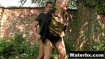 Erotic Girl Naked Pee
