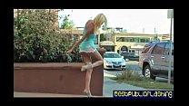 Addison O'Riley - Leggy Blonde Public Flashing ...