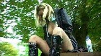 Homemade flashers footage of sexy milf Emma Lou...