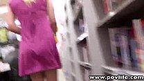 POVLife Natural tits blonde Roxy Lovette POV ba...