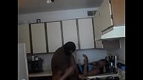 Ebony Milf Kitchen Sex