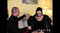 Jolie emo girl francaise bien demontee pour son...