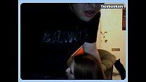 Sucking and fucking on webcam