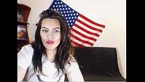 College Teen on Webcam