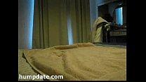 Patricia batendo siririca na casa da colega dela