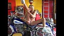 Briana Banks fucks on motorbyke