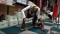 Blonde Austrian amateur girl showing