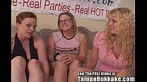 Kayce Monroe's Tampa Bukkake Bash Part 1