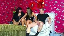 Old German Couple Seduce Big Tit Teen to Fuck i...