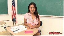 Bad Student Selma Sins Strokes for Better Grade