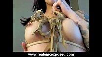 Tattooed Eve's Slow Cherokee Striptease