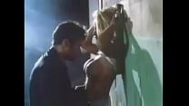 Pamela Anderson against wall sex scene