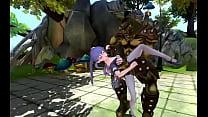 [H-Project] Slash Princess Sakura - Clip 03