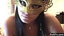 Hot Masked Beauty Giving HJ