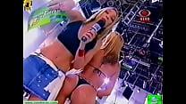 shorts white striptease fiuza Paloma