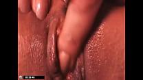 MY BBW chubby wet pussy closeup masturbate sexy...