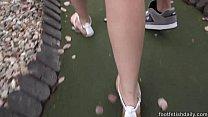 Kimber Woods foot fetish