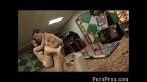 Teen Facialed in an Arcade!