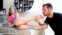 Milf Pornstar Carmen Valentina Foot Worship