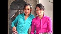 two lovely latinas Tami Fabiana and Diana Delga...