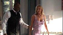 Interracial cuckold birthday fuck Jade Jamison ...