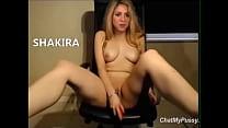 masturbandose Shakira