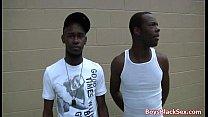 BlacksOnBoys - Black gay dudes fuck hard white sexy twinks 01