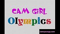 Cam Girl OlympicsHead Hand Stand